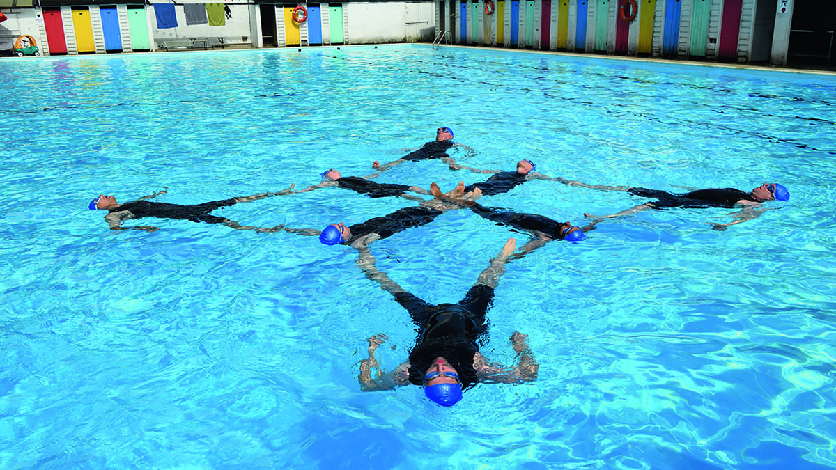 Swimming With Men To Make A Splash On The Big Screen