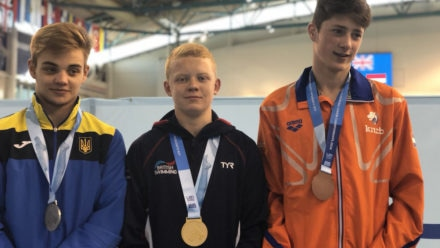 Humphreys strikes gold as divers claim five European Junior Championships medals