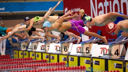 Thrilling finishes as Men's 50m Freestyle races go to the wire