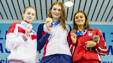 Anderson bags GB's second gold at European Junior Swimming Championships