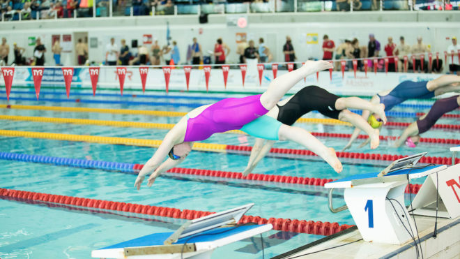 Inaugural running of the Mystery Medley at Surrey Champs