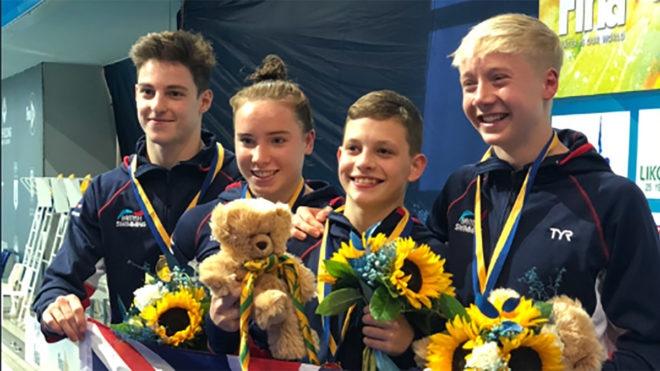 Great Britain make golden start to Fina World Junior Diving Championships
