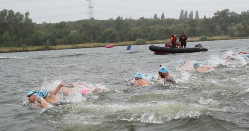 Day one of the National Open Water Festival was abandoned due to strong winds