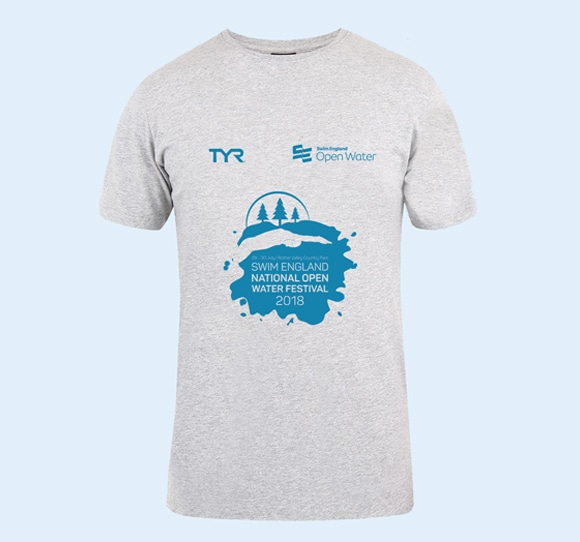 Open Water Festival TYR T-Shirt Front