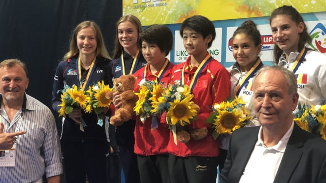 Banks and Martin claim World Junior Diving Championships silver