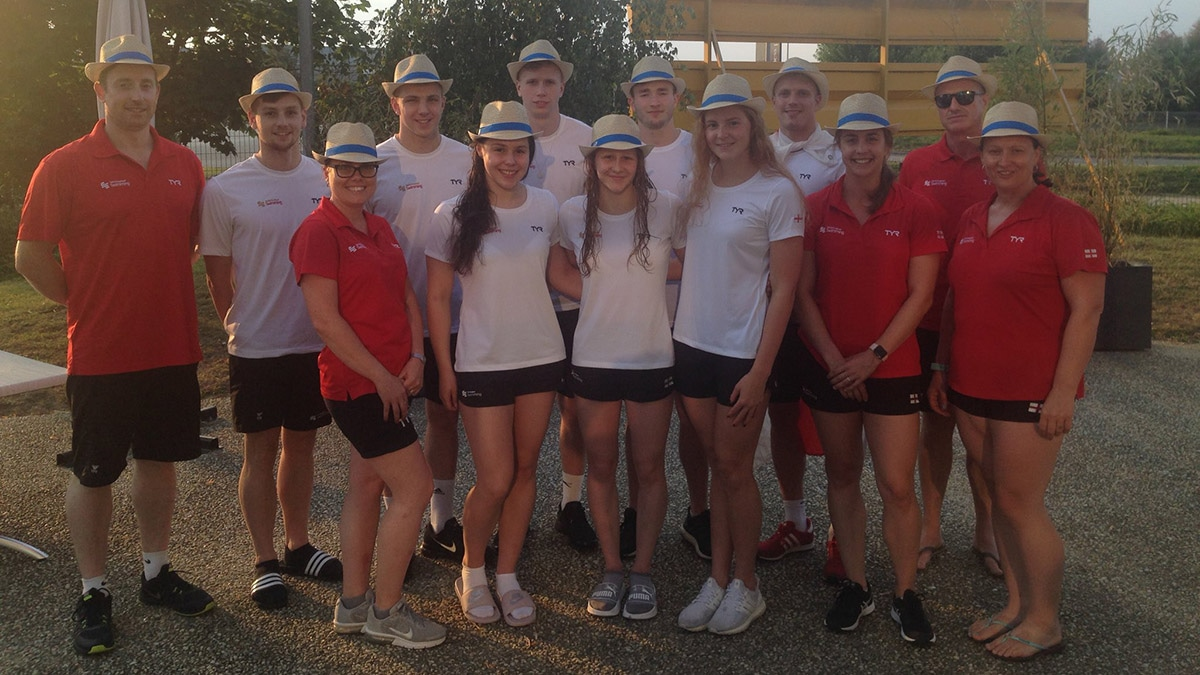 Positive and professional Swim England 2024 squad pass French Open test