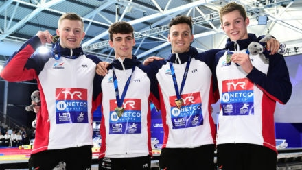 Peaty is first ever British three-time quadruple European champion