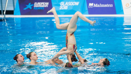 Brits finish ninth in Team Free at Glasgow 2018