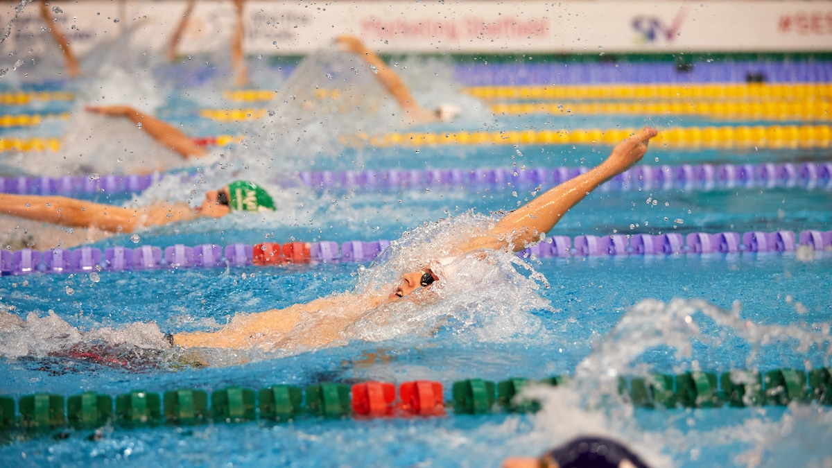 Backstroke golds for Stockport's Rowson and Butler