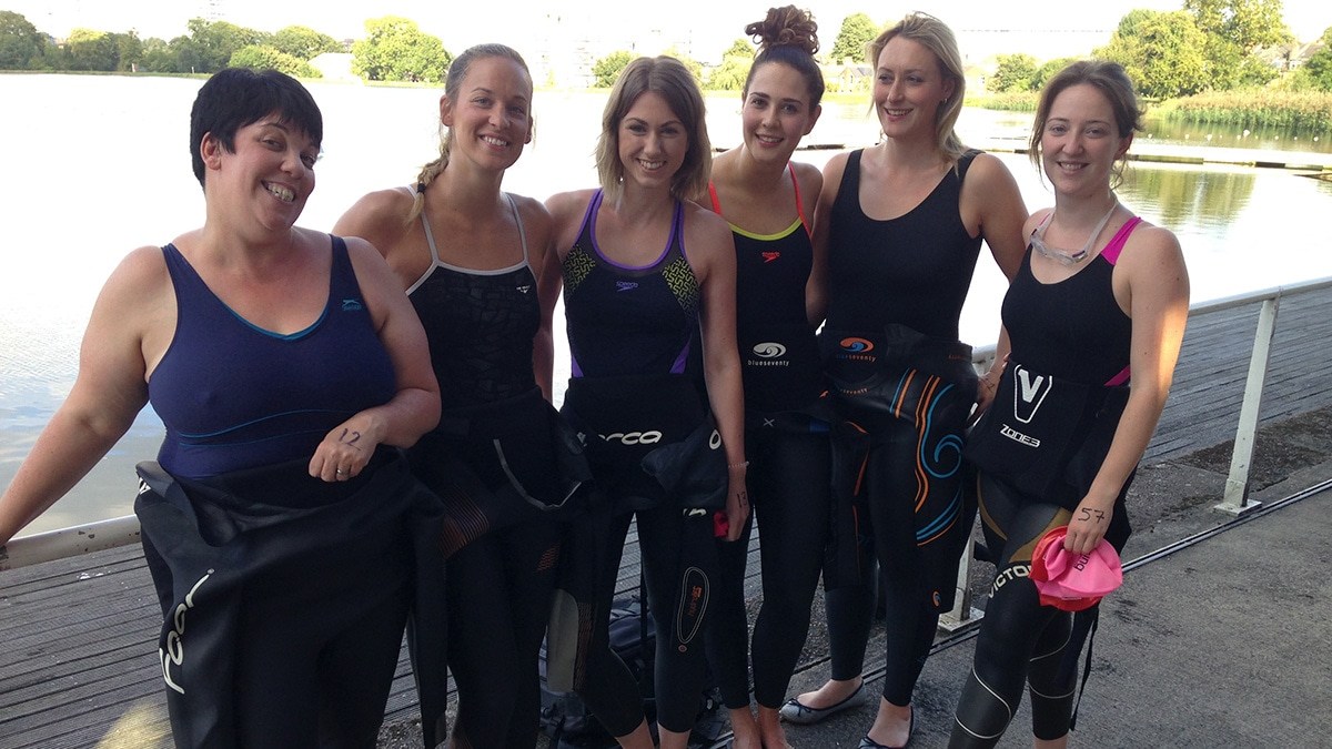 Free coaching sessions at Swim Serpentine