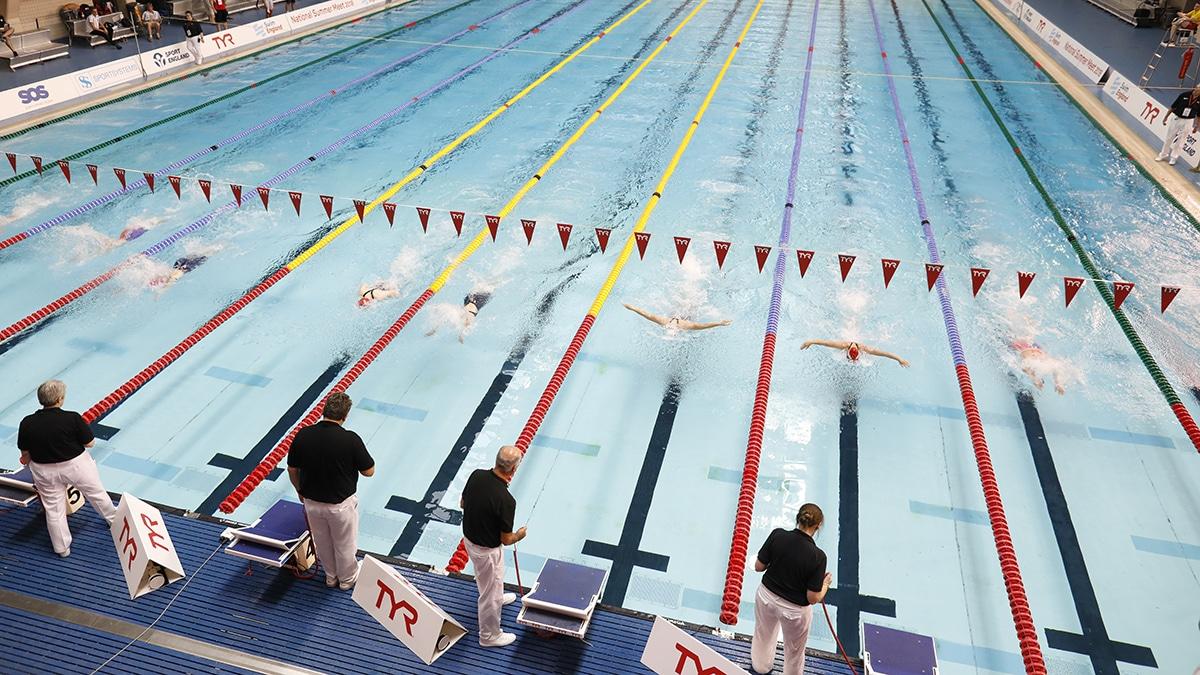 Swim England National Summer Meet 2018 50m Butterfly finals