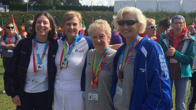 Another golden day for GB at European Masters Swimming Championships