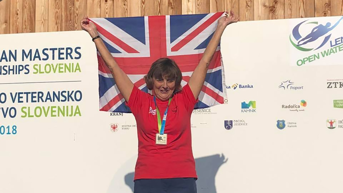 Jenny has a Ball as she wins European Masters Open Water gold