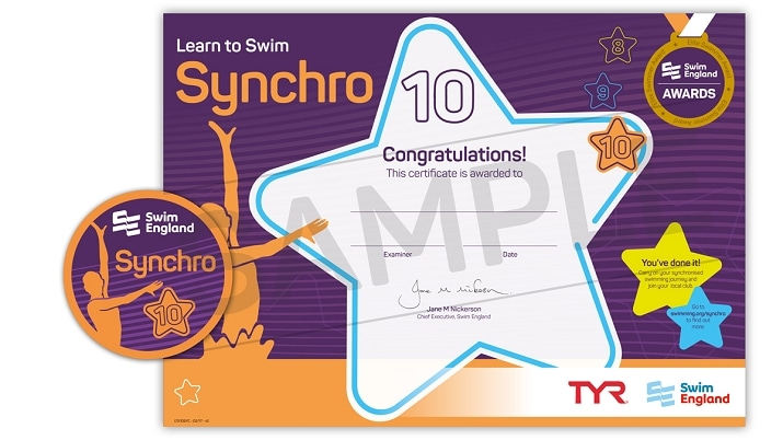 Learn To Swim Synchro: Stage 10