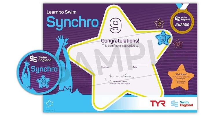 Learn To Swim Synchro: Stage 9