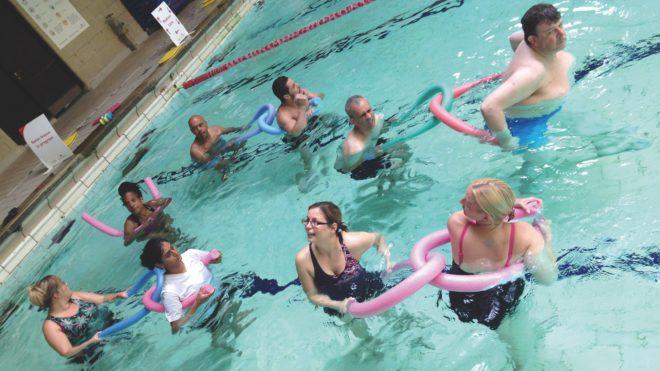 Sign up for Aquatic Activity for Health courses in November
