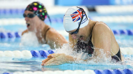 Masters swimming in the East Midlands