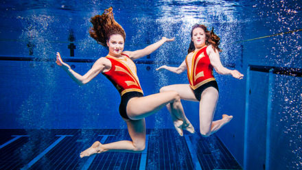 Beneath The Surface Of Masters: Gemma Wright and Sarah Speers
