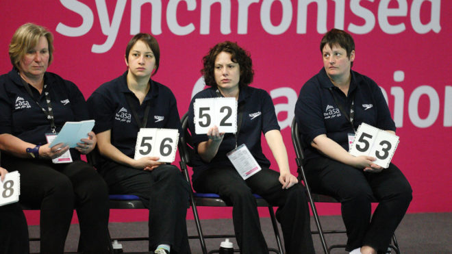 Become an Artistic Swimming Scorer