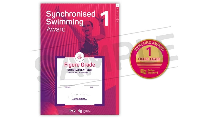 Swim England artistic swimming grade awards