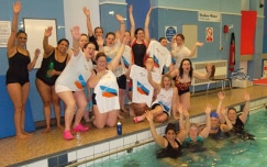 Charity aqua fitness class raises almost £5,000 for Alzheimer's Research UK