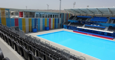 Baku in focus: Q&A with water polo parent Mark Edwards