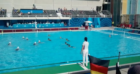 Great Britain push Germany all the way in Baku