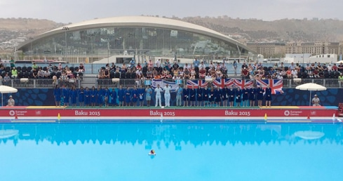 Brits off the mark in Baku with Israel victory