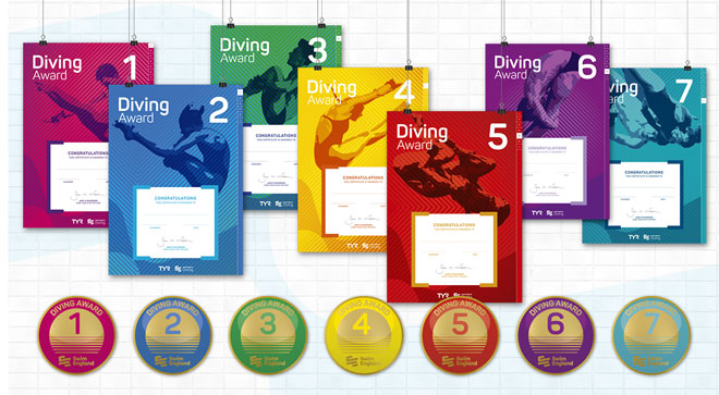 Diving Awards 1-7
