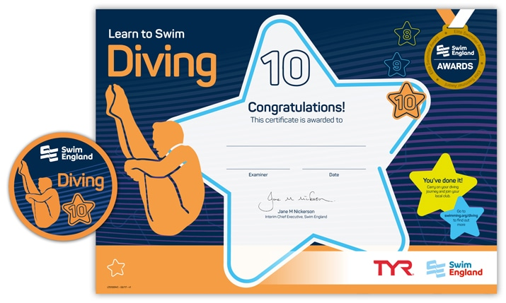 Learn to Swim Diving: Stage 10