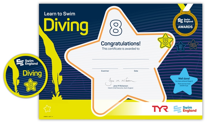 Learn to Swim Diving: Stage 8