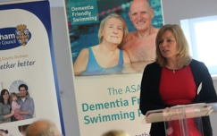 Swimming Project nominated for Alzheimer's Dementia Awards