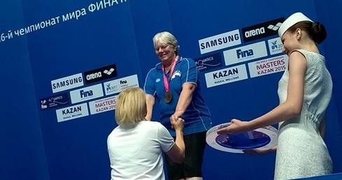 Masters divers land medal hat-trick in Kazan