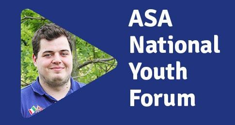 Gareth Ikin ASA National Youth Forum profile