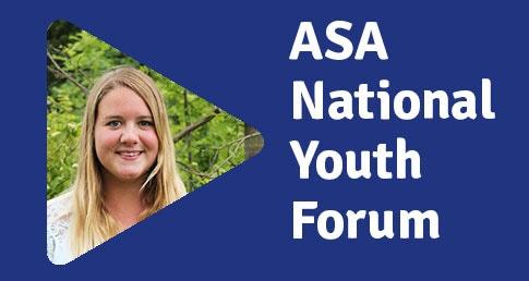 Hannah Kett ASA National Youth Forum profile