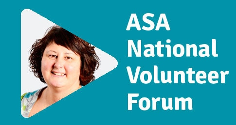 Kelly Podbury ASA National Volunteer Forum profile