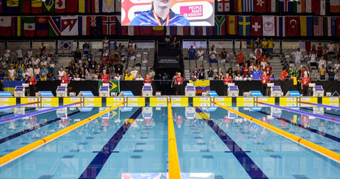 IPC Swimming World Champs - Robert Nesbitt young official