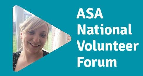 Sarah Sumner ASA National Volunteer Forum profile