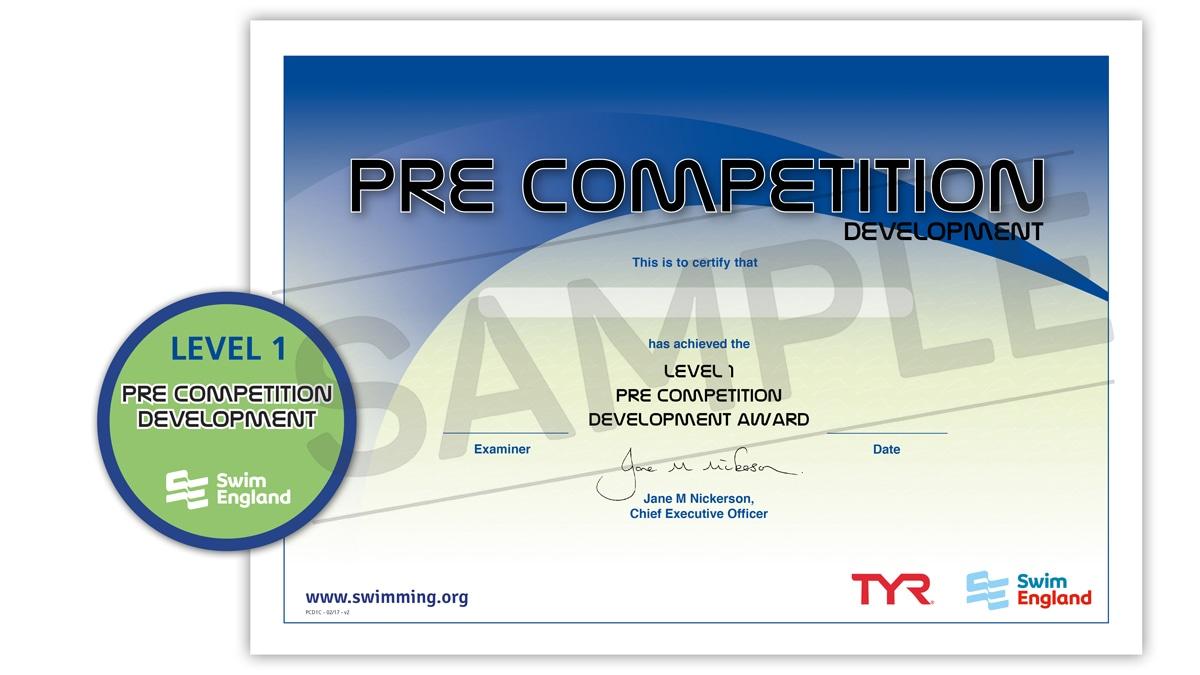 Pre-Competition Development Awards