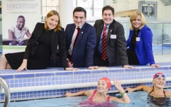 Tracey Crouch supports Dementia Friendly Swimming