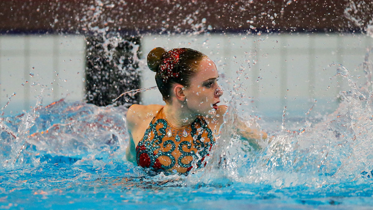Hannah Randall performing her Solo routine from the 2015 National Age Group Synchro Championships
