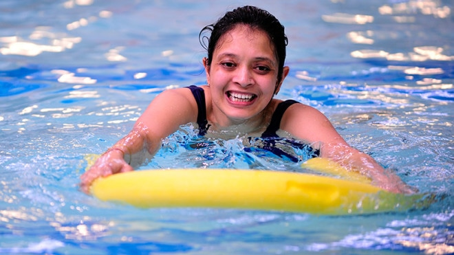 Help to overcome a fear of swimming