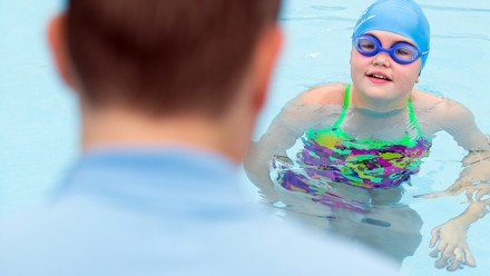 Becoming a swimming teacher in the UK