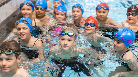 Your child's swimming lesson progress