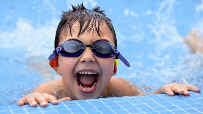 Disability and swimming lessons