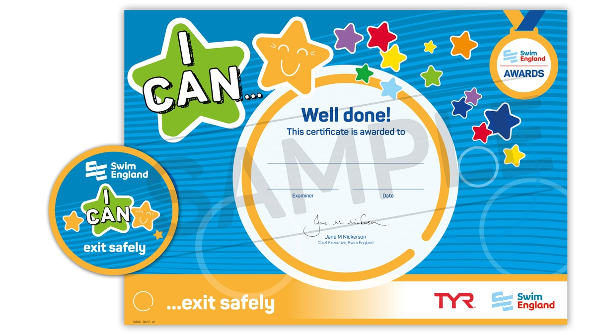 I CAN ... exit safely | Swim England I CAN Awards