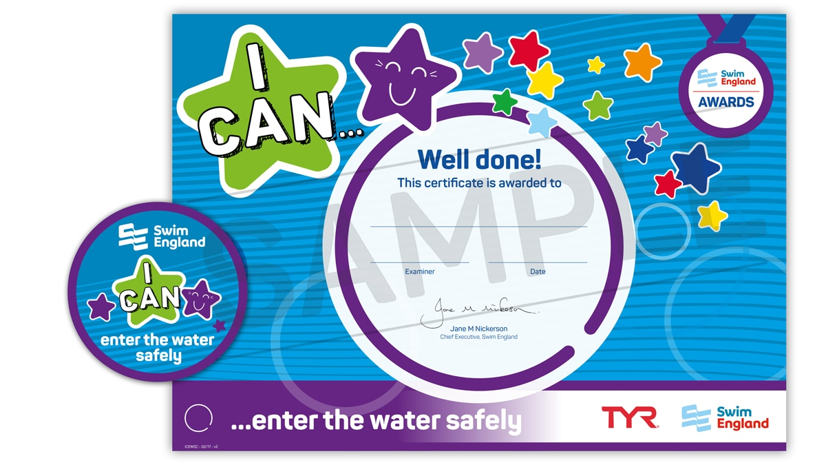 I CAN ... enter the water safely | Swim England I CAN Awards