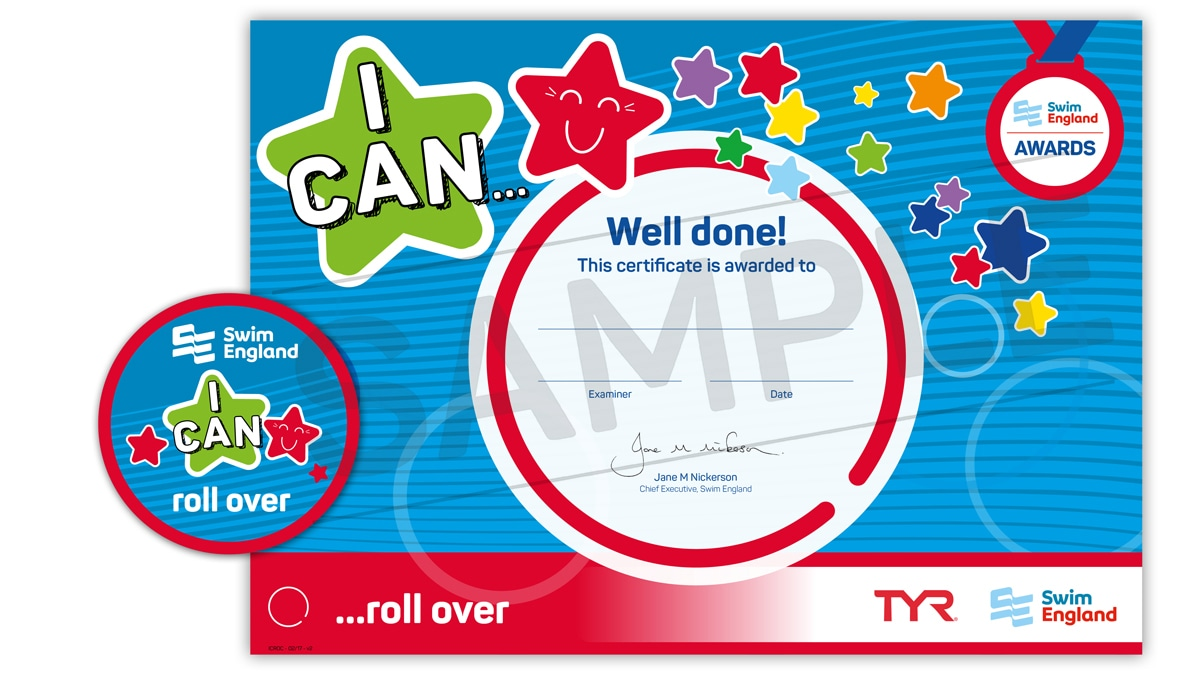 I CAN ... roll over | Swim England I CAN Awards