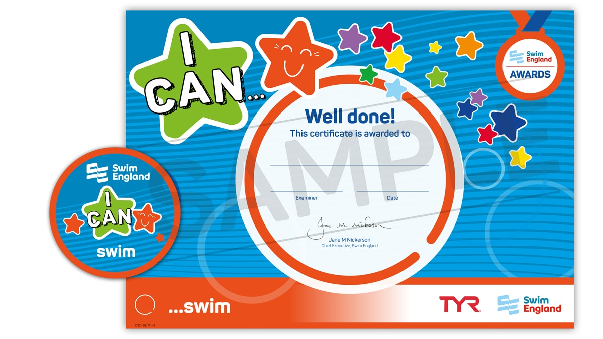 I CAN ... swim | Swim England I CAN Awards