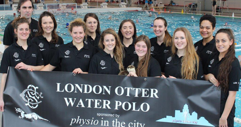 Otter in Porto for LEN Euro League 2016 prelims